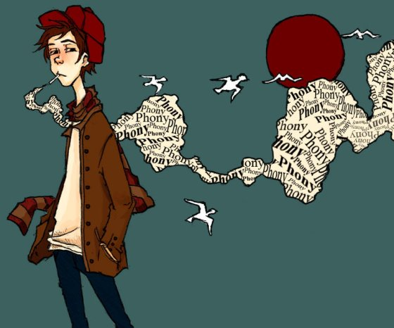 Image result for catcher in the rye illustrations
