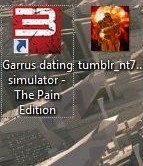 Garrus dating simulator - The Pain Edition
