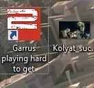 Garrus playing hard to get