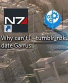 Why can't I date Garrus